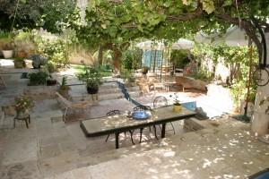 גינת הבית הטבעי - מבט מלמעלה