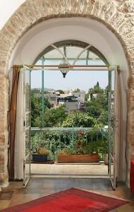 הבית הטבעי - מרפסת חדר עליון